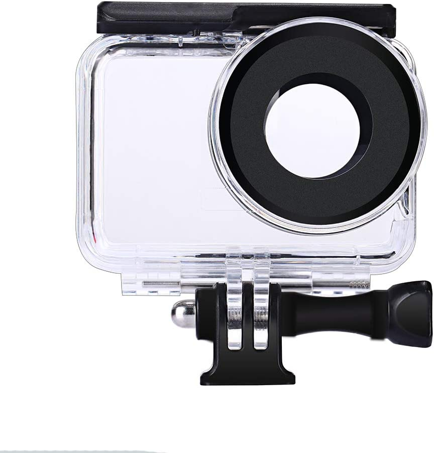 Dive Case for Insta360 ONE R 360 Degree Action Camera, Waterproof Housing Underwater Diving Protective Shell 30M with Bracket Accessories