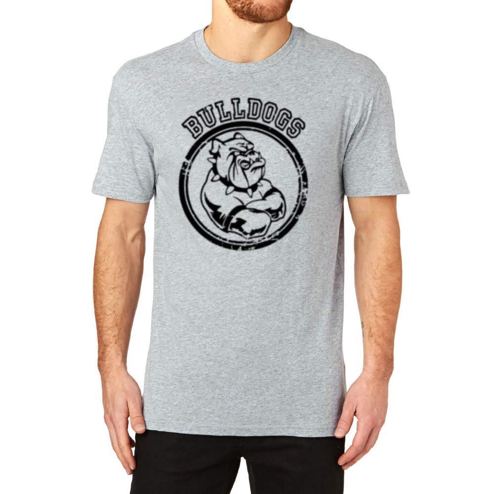 S Bulldog Sports Team Graphic Cool Casual T Shirts Tee 9063