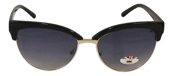 Gafas de sol de mujer, estilo retro, de ojos de gato, años ...