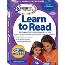 Hooked on Phonics Learn to Read - Level 4: Emergent Readers (Kindergarten   Ages 4-6)
