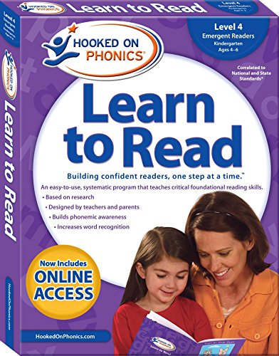 Hooked on Phonics Learn to Read - Level 4: Emergent Readers (Kindergarten | Ages 4-6) (4) (Hooked On Phonics Readers)