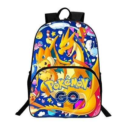 design di qualità 4b3b1 2cdf3 Carino Zaino Pikachu Con Stampa 3D Per Viaggioa Zaino Pokemon Scuola  Elementare Borsa Da Scuola Ragazzi Adolescenti Ragazze (1)