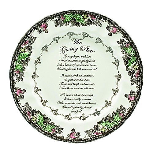 - Johnson Brothers Friendly Village Giving Plate, 10-3/4-Inch