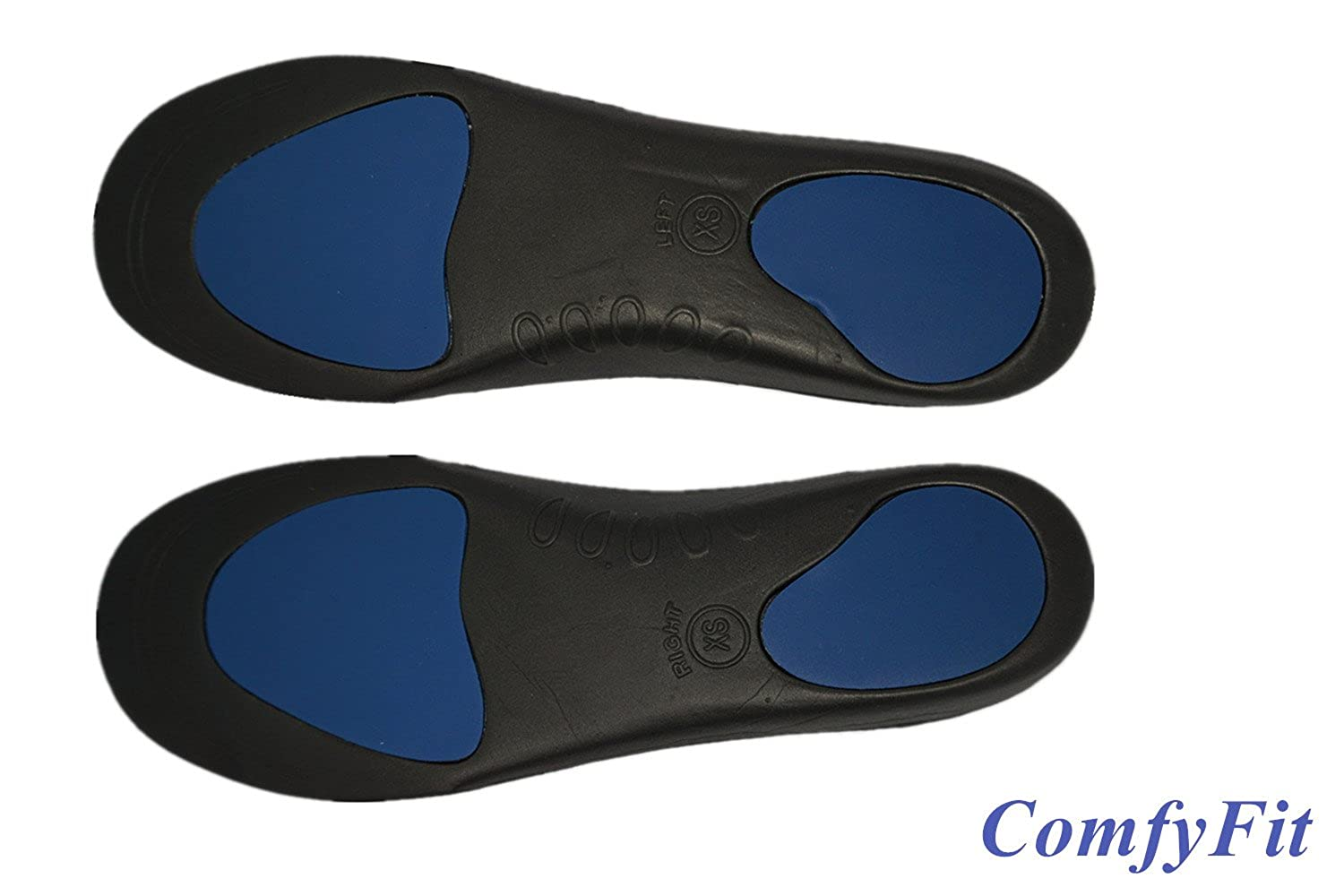 Comfy Fit Orthotic Insoles Metatarsal and Heel Cushion 3D Arch Supports