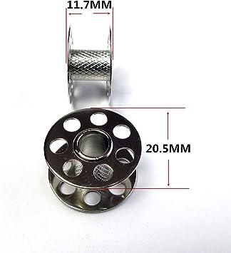 B350PE B380,830,930,440 20 Metal Bernina Bobbins 3 Series 330 380 B330,350PE