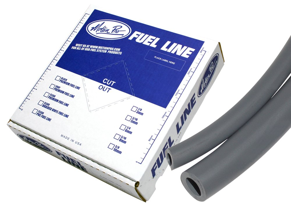 Motion Pro 12-0032 Tygon Grey 1//4 x 25 Premium Fuel Line