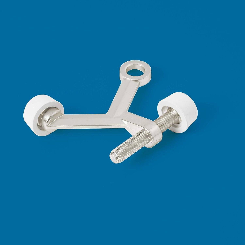 Oil Rubbed Bronze Commercial Standard Hinge Pin Door Stop 10-Pack