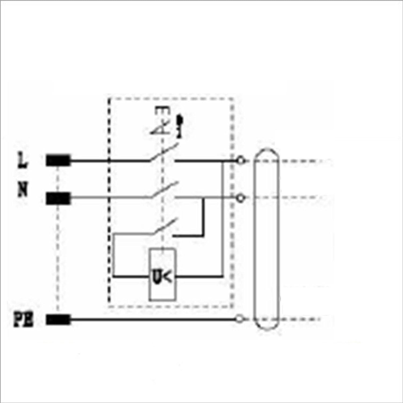 BUZE Orginal KEDU KOA7 Schalter 230V mit Notaus, Thermoschalter ...