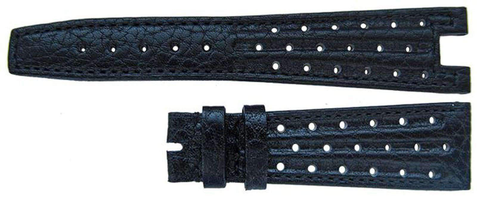 Omega Watch Strap 22mm Omega Black Strap Corfam