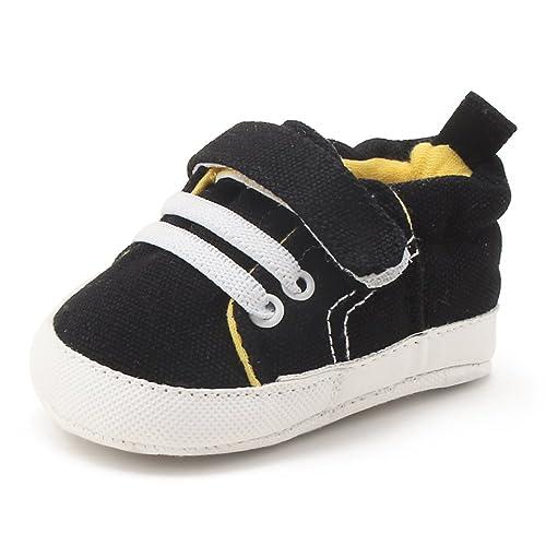 DELEBAO Zapatos Bebé Zapatillas Lona Bebe Suela Blanda Zapatos ...