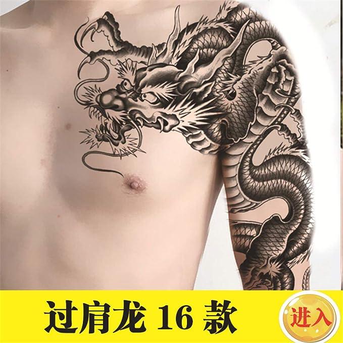 tzxdbh Pegatinas de Tatuaje de Media Armadura Nuevas, Resistentes ...