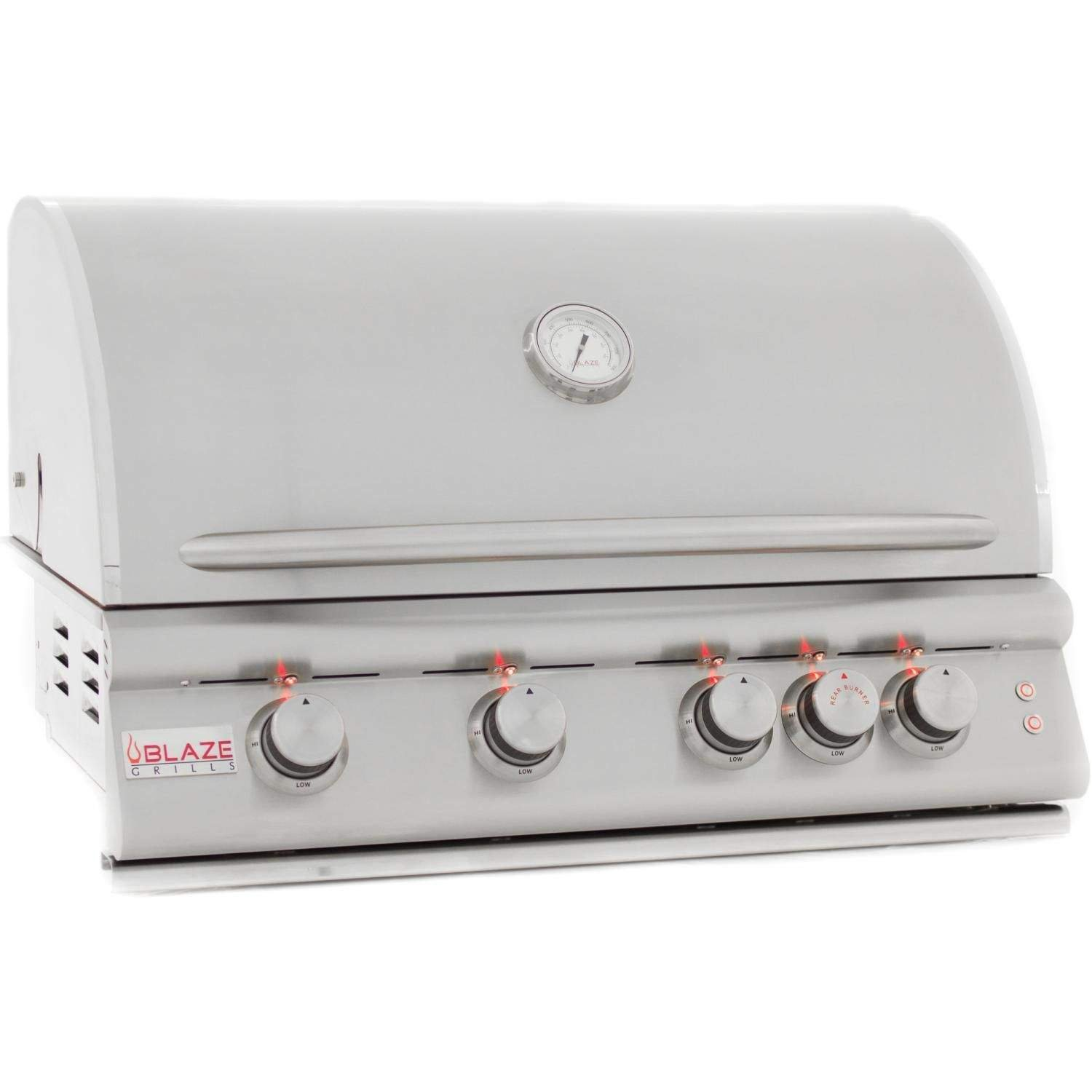 Blaze 32-inch Grill with Lights (BLZ-4LTE-LP), Built-In, Propane Gas
