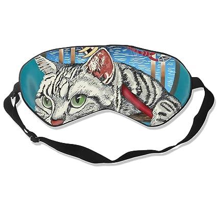 Amazon.com - EEGOGO Sharp Shirter Ninja Cat Sleep Mask Made ...