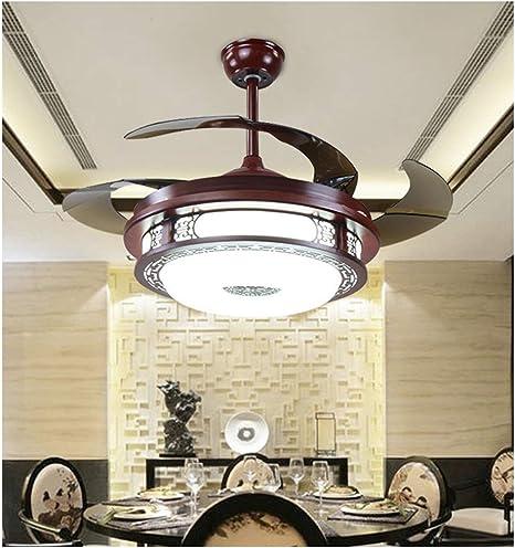NIUZIMU Ventilateurs de Plafond de Dimmable avec des