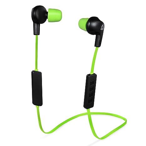 KLIM Pulse Auricolari Bluetooth 4.1 Cuffie Auricolari wireless - Riduzione  Rumore - Perfette per Sport 3c788e8a2ab8