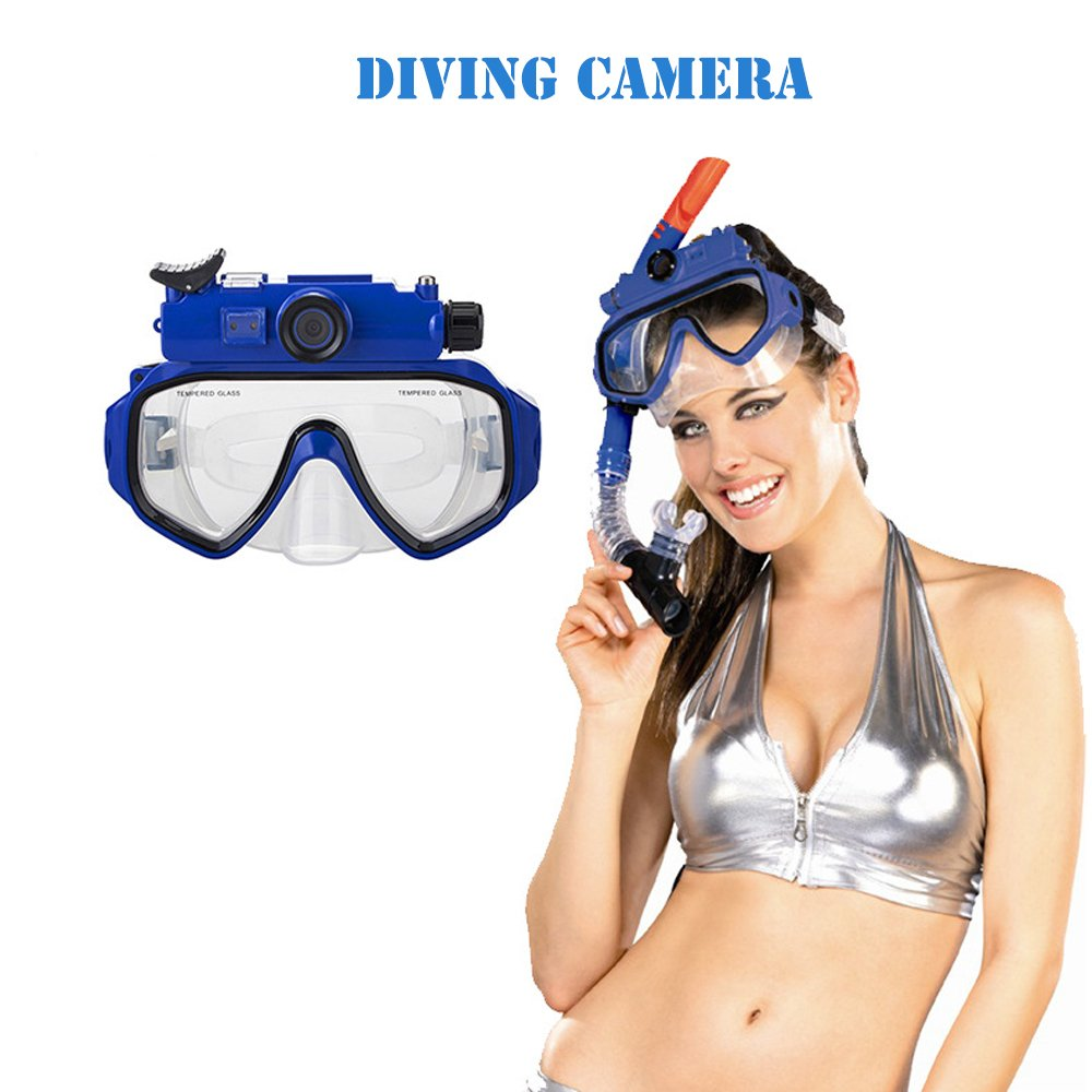 DARONGFENG Diving Mask with Underwater Camera,Waterproof Video Recorder by DARONGFENG (Image #3)