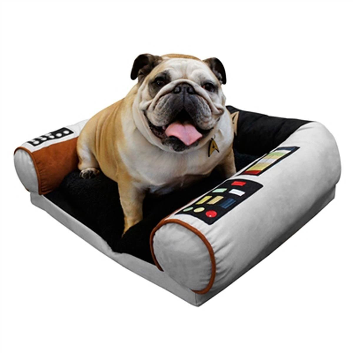 Star Trek Dog Bed - Captain's Chair - Command the Enterprise with your Dog - S / M