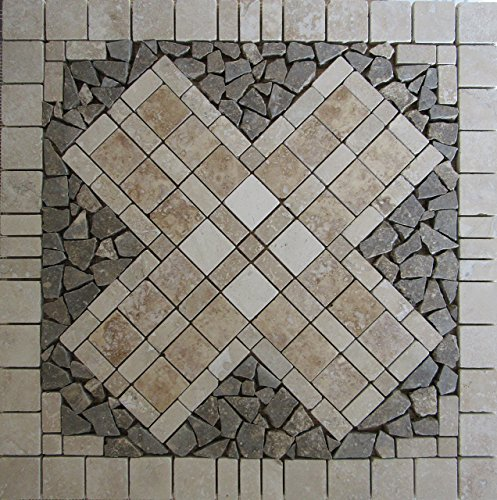 24-tumbled-natural-stone-travertine-marble-and-volcano-limestone-mosaic-medallion-floor-or-wall-tile