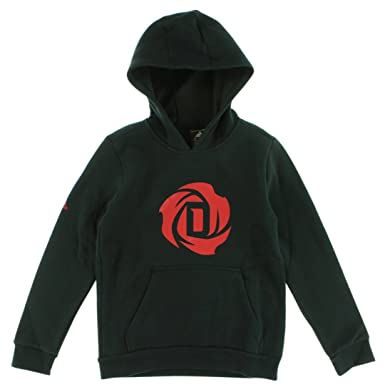 competitive price 84753 017aa Amazon.com: adidas Boys D Rose Logo Hoodie Black S: Clothing