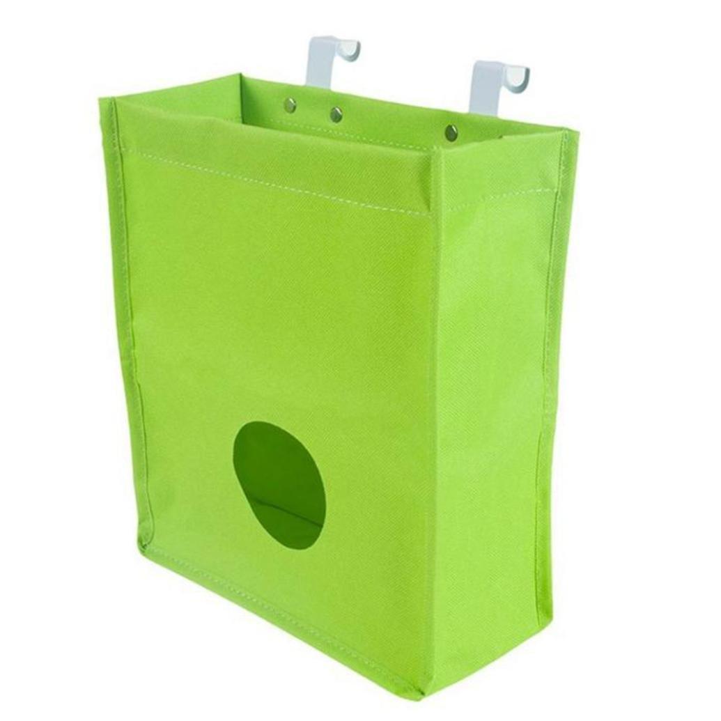 squarex Kitchen Cupboard Garbage Hanging Storage Bag Home Bathroom Holder Organizer (A)