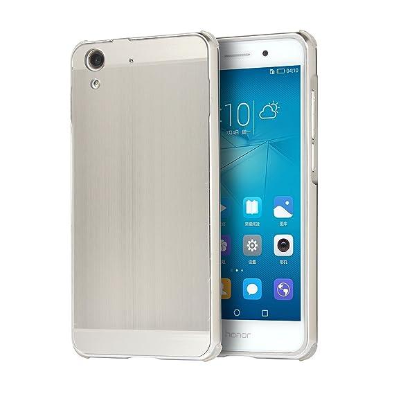 release date 88cf0 e3735 Amazon.com: Cover for Huawei Honor 5A/Huawei Y6 II (Metal Frame ...