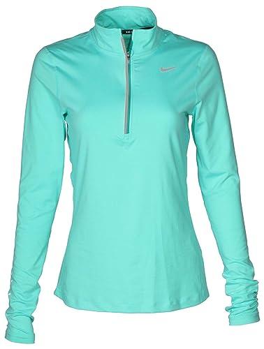 Buy Nike Women's Dri Fit Element 12 Zip Running Shirt Igloo