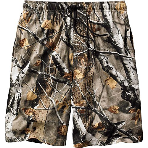 Legendary Whitetails Men's Timber Antler Lounge Shorts Big Game Field Camo Large