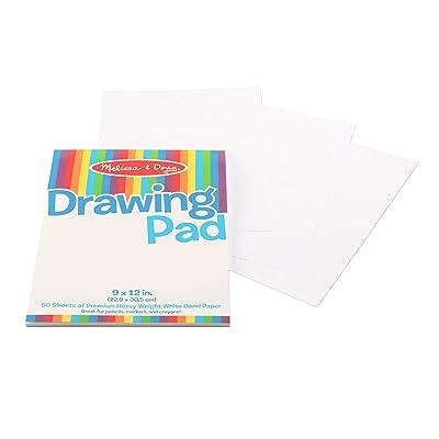 Melissa & Doug Drawing Pad 9 x 12 in: Melissa & Doug: Toys & Games