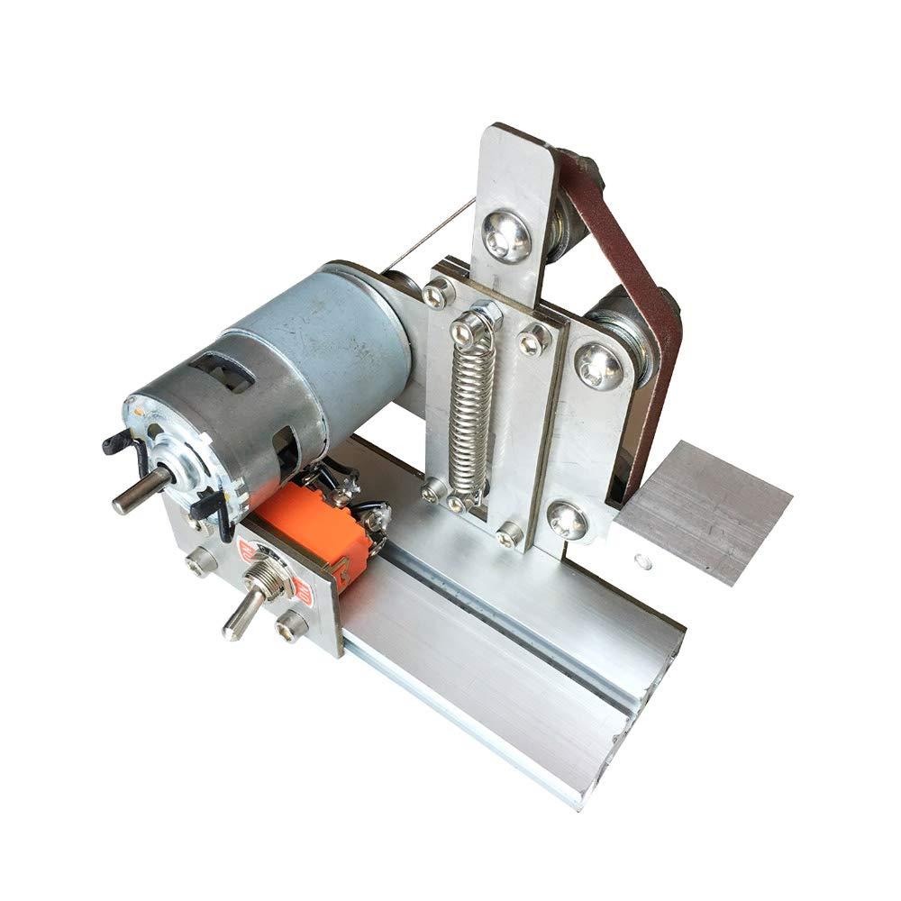 Mini Belt Sander Machine DIY Sanding Machine Grinding Wheel Machine