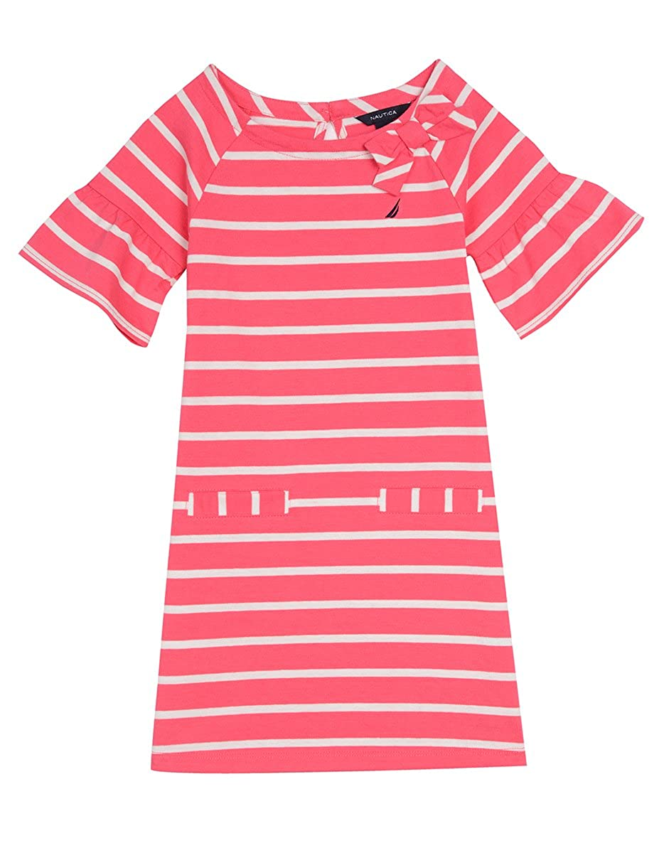 Nautica Girls Stripe Jersey Shift Dress