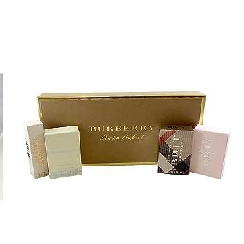 Amazoncom Burberry Miniature Collection Set For Women 45 Fl Oz