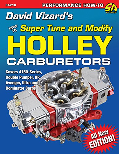 David Vizard's Holley Carburetors: How to Super Tune and Modify (NONE)