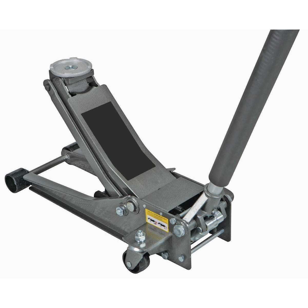 3 ton Steel Heavy Duty Floor Jack with Rapid Pump by USATNM by Pittsburgh Automotive