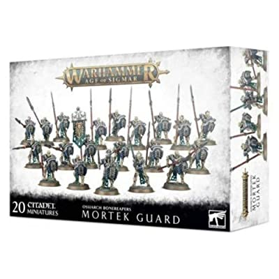 Games Workshop Warhammer 40,000: OSSIARCH BONEREAPERS MORTEK Guard: Toys & Games