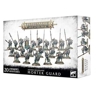 Games Workshop Warhammer 40,000: OSSIARCH BONEREAPERS MORTEK Guard: Toys & Games [5Bkhe0500381]