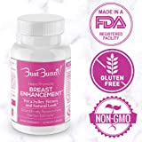 Breast Enhancement Pills - Vegan Friendly - 3 Month Supply   #1 Natural Way to a Fuller, Firmer Look by BUST BUNNY