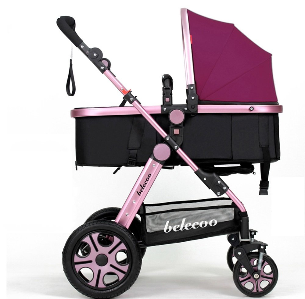 DS-Baby Car Trolley - can sit down and lay the stroller light cart && ( Color : 4# )