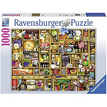 Kitchen Cupboard Jigsaw Puzzle 1000 Piece Toys Games