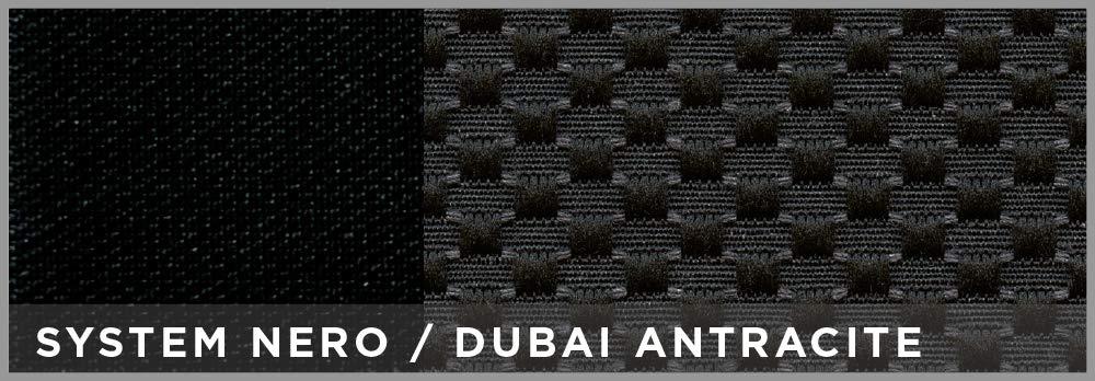 Cora 129581 Coprisedili Anteriori Auto Taglia Media Dubai Antracite