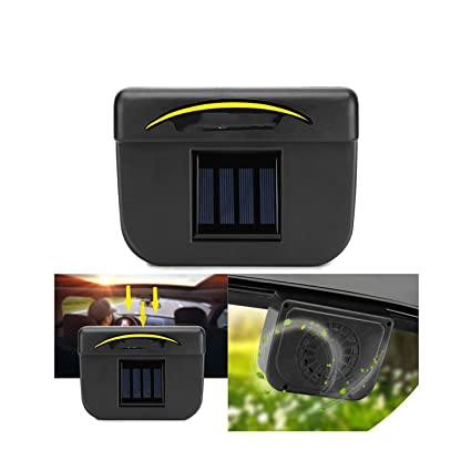 Amazon com: Universal Solar Car Window Auto Air Vent Cool