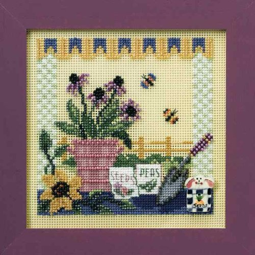 Mill Hill Buttons Beads Cross Stitch Kit - Potting Table - $14.49