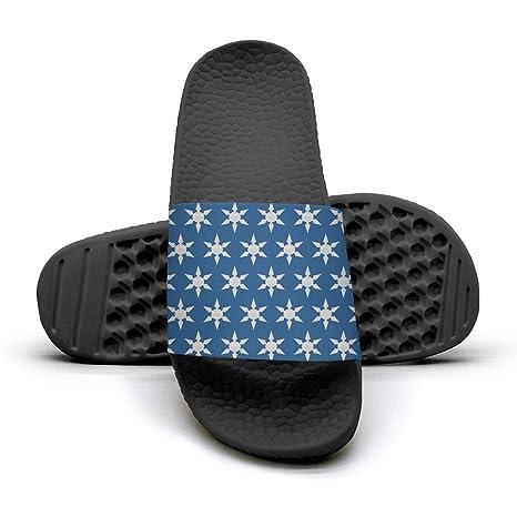 Amazon.com: ERFDGRHTD Blue Ninja Stars Silhouette Ninja ...