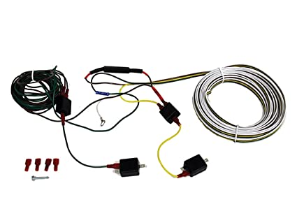 amazon com blue ox bx88334 wiring kit incl 4 diodes w 50 ohm