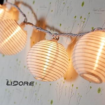 Mini Paper Lantern Indoor Party String Lights