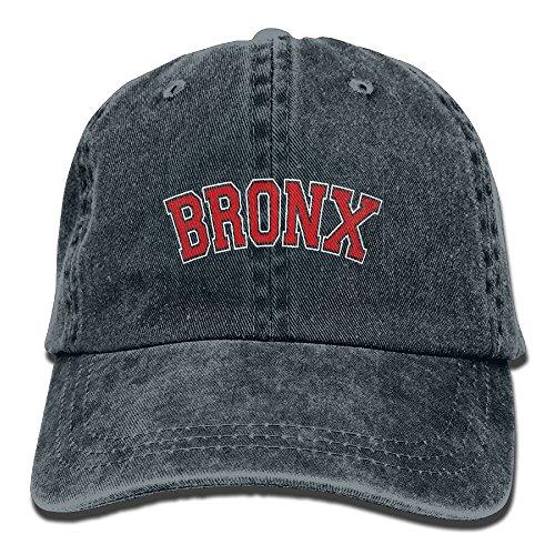 BRONX Retro Washed Dyed Adjustable Baseball Cowboy Cap