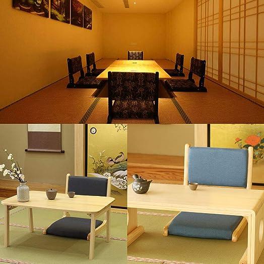 Floor Chair Tatami Cushion Japanese Legless Chair Padded Portable Folding