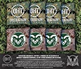 Victory Tailgate NCAA Colorado State Rams Unisex 16669Cornhole Bag Set (Corn Filled), Multicolor, One Size