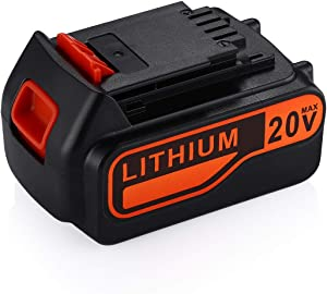 Powerextra 20V 7.0Ah Replacement Battery for Black and Decker 20V Cordless Power Tool 20 Volt MAX Lithium Ion Battery LBXR20 LB20 LBX20 LBXR2020-OPE LBXR20B-2 LB2X4020