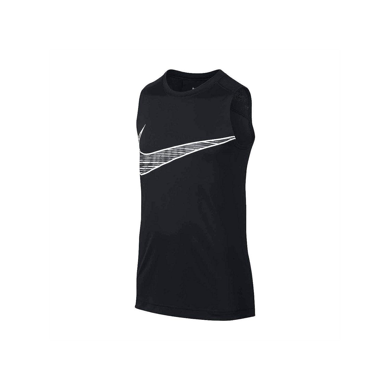 Nike Sleeveless T-Shirt-Big Kid Boys blk Medium