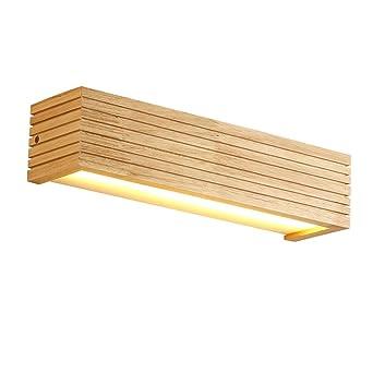 Yuan Jian Moderne Holz Wandleuchten Badezimmer Spiegel Lampe Flur